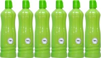 Harshpet Fridge Bottle- Chreey Green 1000 Ml Bottle (Pack Of 6, Green)