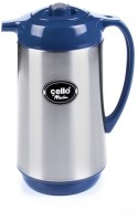 Cello Mocha Vacuum 1000 Ml Flask (Pack Of 1, Blue)