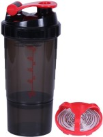 UDAK Speed Gym Shaker 500 Ml Shaker, Bottle, Sipper (Pack Of 1, Red)