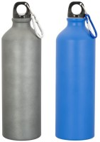 GADGE SPORTS BOTTLE MATT BLUE AND GREY 750 Ml Sipper (Pack Of 2, Multicolor)