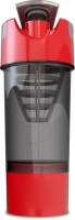 Fuel Shaker Cyclone 500 Ml Shaker, Sipper, Bottle (Pack Of 1, Black & Red)