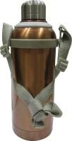 MegaLite Stainless Steel Enjoy 500 Ml Bottle (Pack Of 1, Brown)