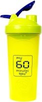 My 60 Minutes Green Cool Gym Shaker 700 Ml Bottle (Pack Of 1, Green)