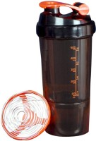 UDAK Speed Gym Shaker 500 Ml Bottle, Shaker, Sipper (Pack Of 1, Orange)