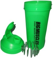 BIG MUSCLE PROTEIN 600 Ml Shaker (Pack Of 1, GREEN)