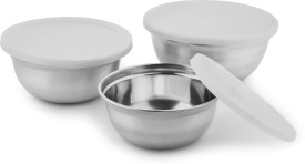 HMSTEELS Stainless Steel Disposable Bowl Set