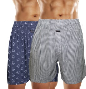 Bahamas Trendy Boxer Shorts Printed Men's Boxer Pack Of 2