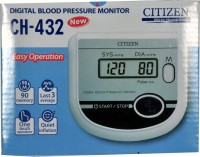 Citizen Ch 432 Delux Ch-432 Bp Monitor (White)