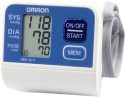 Omron HEM 6111 Wrist Bp Monitor - White and Blue
