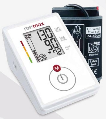 Rossmax CH155f Digital Upper Arm Bp Monitor (White)