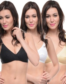 Bodycare bracomboe5501bsw Women's Full Coverage Bra