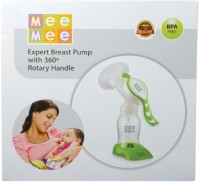 Mee Mee Manual Breast Pump With Rotary Handle  - Manual (Green)