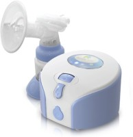 Rumble Tuff Single Electric Breast Pump  - Electric (White, Blue)