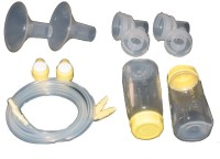 Medela Replacement Parts Kit Pump In Style Advanced Bpa Free  - Manual (Transparent)