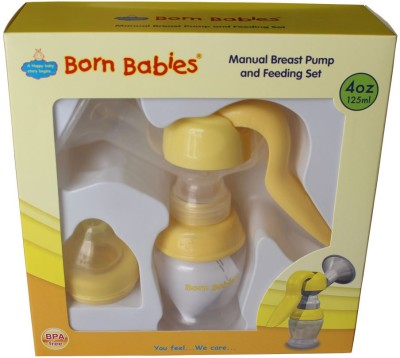 Born Babies Otb016 Manual Breast Pump  - Manual (Yellow)