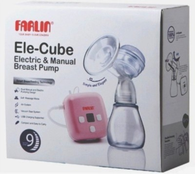 Farlin India's 1 Dual Breast Pump  - Electric (Pink)