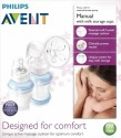 Avent Breast Pump With Manual And Storage Cup  - Manual - White