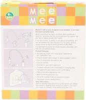 Mee Mee Pump With Feeding Bottle Set  - Manual (Cream)