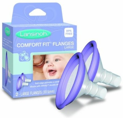 Lansinoh Comfortfit Flanges (Purple)
