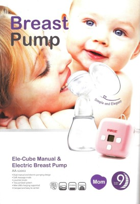 Farlin Manual Cum Electric Breast Pump  - Electric (Pink)