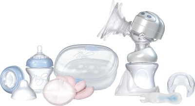 Nuby Rhythm Dual Action Electric Breast Pump and Sanitizer Kit  - Electric
