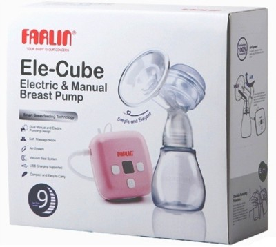 Farlin Farlin Electric & Manual Breast Pump  - Electric (Pink)