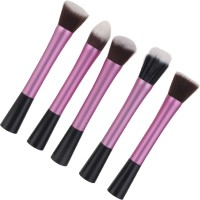 Magideal 5 Piece Foundation Powder Kabuki Brushes Set (Pack Of 5)