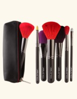 Colorbar Pro Colored Brush Kit With Pouch (Pack Of 6)