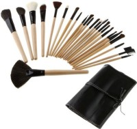 Basicare Professional Makeup Brushes Sets With Soft Black Bag (Pack Of 24)