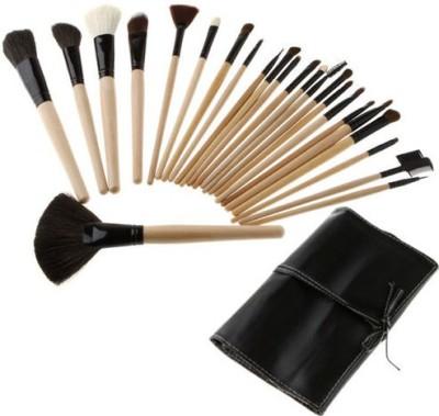 Basicare Professional Makeup Brushes Sets With Soft Black Bag (Pack Of 24)