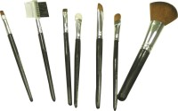 Basicare Make-up Brush Set With Soft Bag (Pack Of 7)