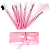 PrettyStar 7pcs Professional Makeup Brush Set With Travel Case (Pack Of 7)