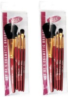 Vega Set Of Five Make-up Brushes-RV05 (Pack Of 10)