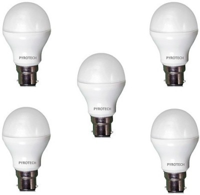 3W,-5W,-7W,-9W,-12W-Cool-White-LED-Bulb-(Pack-of-5)