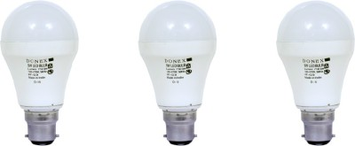 9W-Aluminium-Body-White-LED-Bulb-(Pack-of-3)-