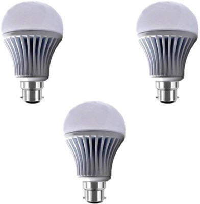 7W-B22-LED-Bulb-(White)-[Pack-of-3]