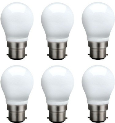 3-W-B22-QA0301-LED-Bulb-(White,-Pack-of-6)