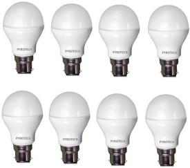 3W Cool White LED Bulb (Pack of 8)