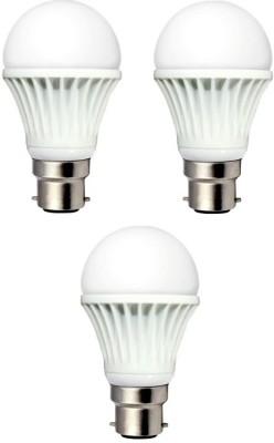 Neon-Lite-3-W-B22-LED-Bulb-(White,-Pack-of-3)