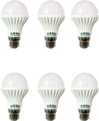 3 W LED Bulb B22 Cool White (pack of 6)