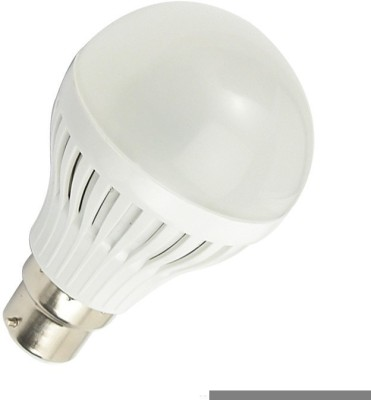 9W B22 LED Bulb (White, Set of 2)