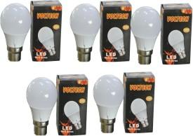 3W White LED Bulbs (Pack Of 5)