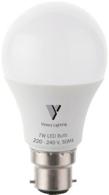 Lighting 7W White LED Bulb