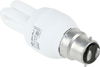 Retrofit Miniz 5 Watt CFL Bulb (Warm White,Pack of 2 )