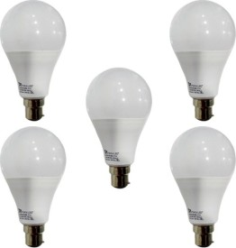 12-W-B22-PAG-LED-Bulb-(White,-Pack-of-5)
