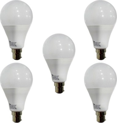 12 W B22 PAG LED Bulb (White, Pack of 5)