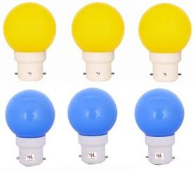0.5W-Multicolor-LED-Bulb-(Pack-of-6)