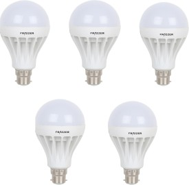 12 W LED BULB (White, Pack of 5)