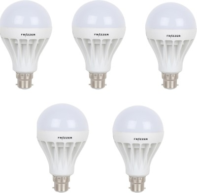 9W LED Bulb (White, pack of 5)