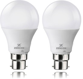 B22 10W LED Bulb (Cool White, Set of 2)